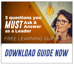 Three questions leaders must ask