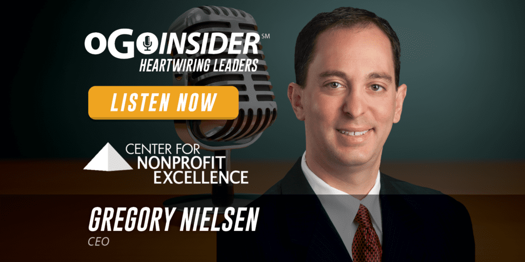 Gregory Nielsen CEO Center For Non-Profit Excellence Louisville Kentucky