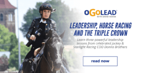Leadership, Horse Racing and the Triple Crown