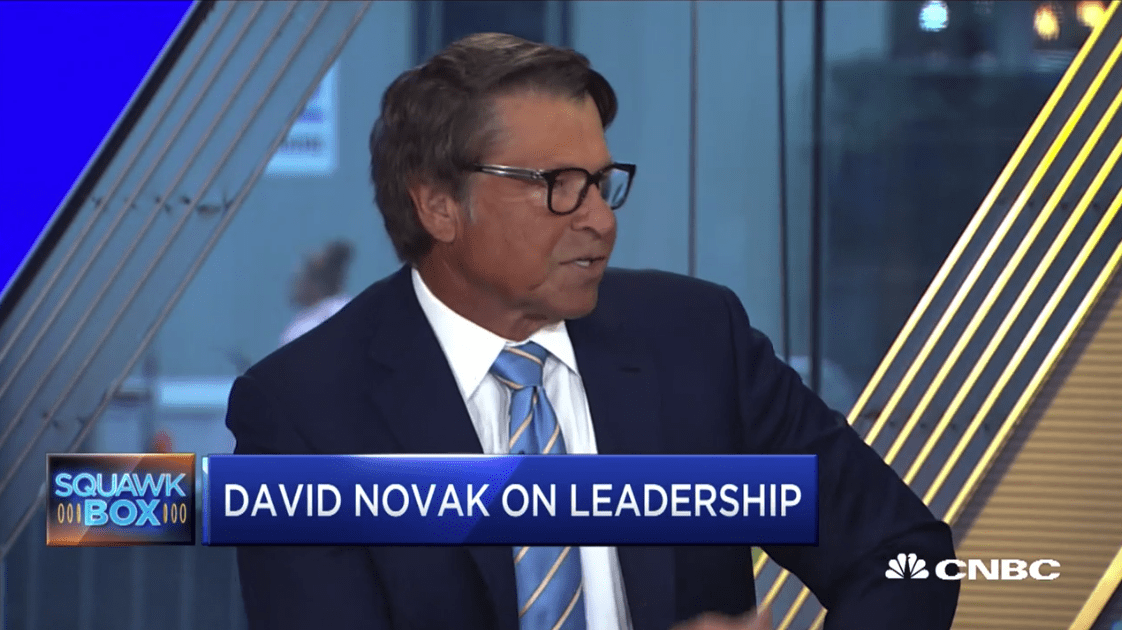 Former Yum Brands CEO David Novak on GE's rise and fall