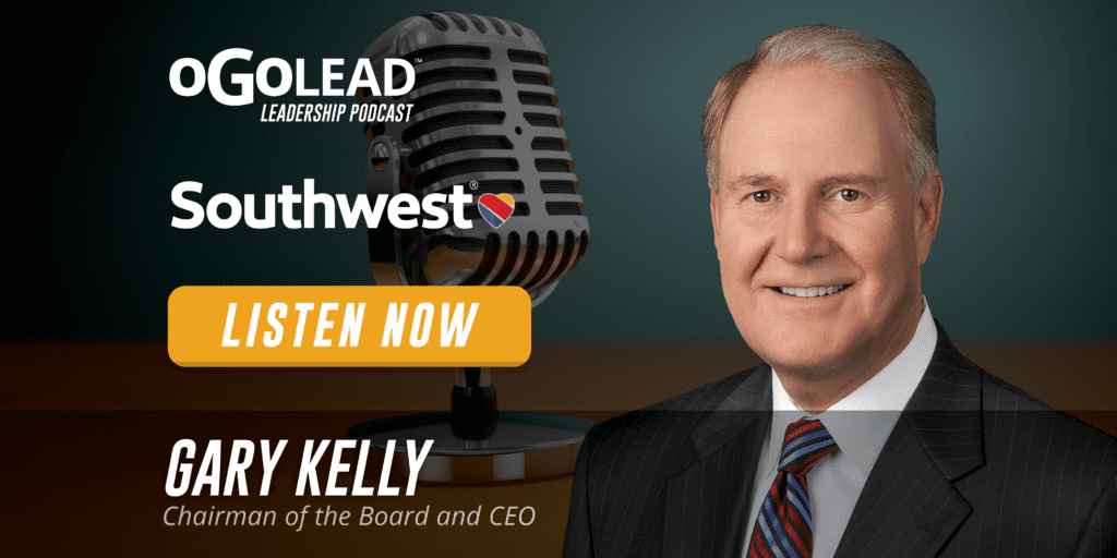 Gary Kelly CEO Southwest Airlines Leadership Podcast