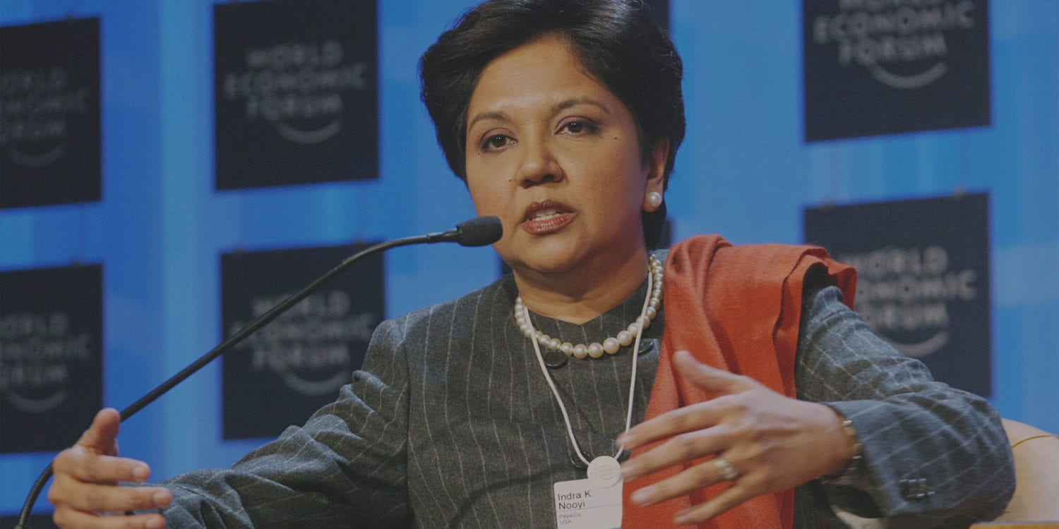 Follow Indra Nooyi's example: Become a leader people are excited to follow