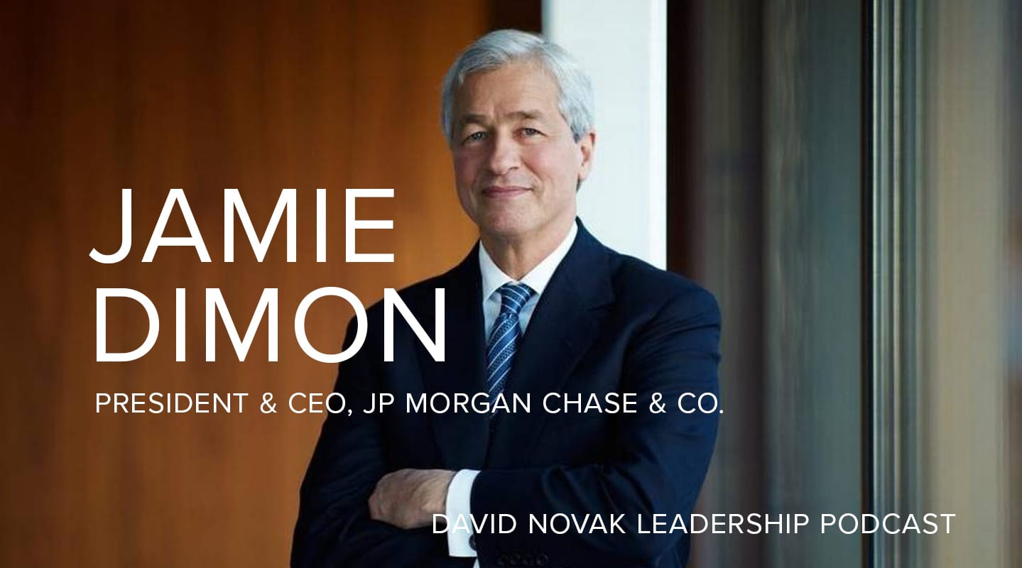 Jamie Dimon, Chairman and CEO of JPMorgan Chase, Part 1